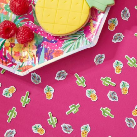 Tropical Hot Summer Table Confetti